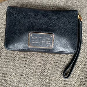 Marc Jacobs Genuine Black Leather Wallet